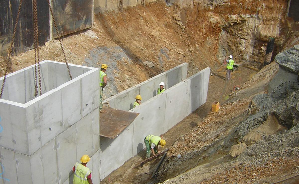 CHU Angers travaux publics préfabriqué