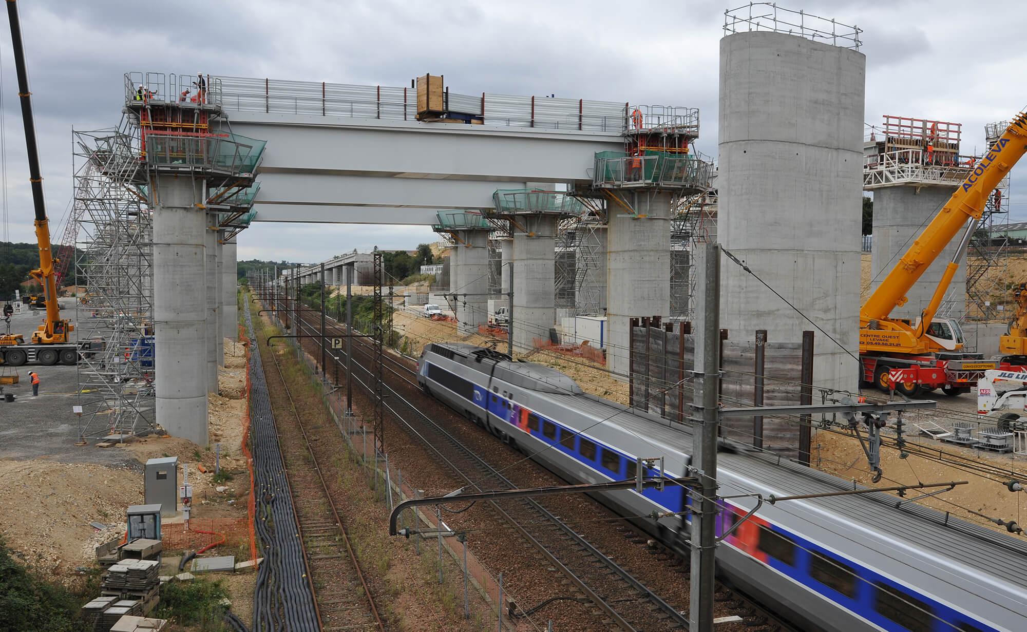 Matériaux pour la ligne LGV SEA tours Bordeaux